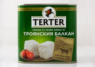 milen galabov packaging design terter cheese front