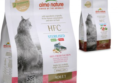 milen galabov almo nature hfc packaging design dry food cat