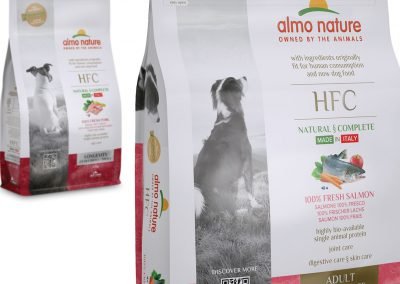 milen galabov almo nature hfc packaging design dry food dog