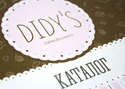 didy's catalog print design cover