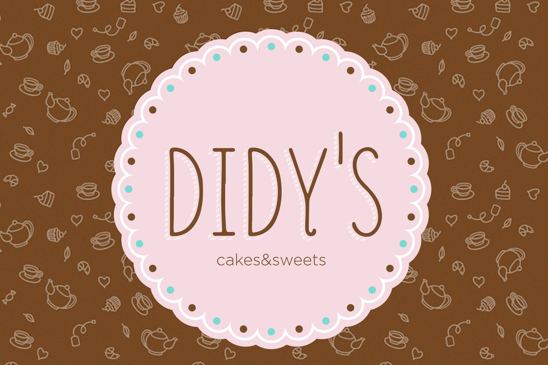 didy's pastry shop catalog design