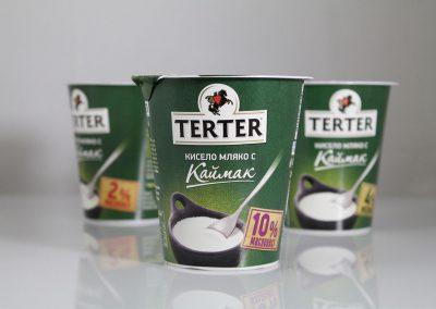 milen galabov packaging design terter yogurt variety
