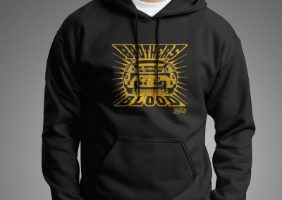 milen galabov apparel design brothers in blood hoodie front