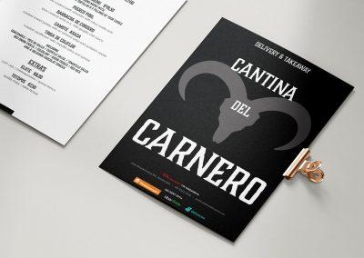 milen galabov cantina del carnero delivery leaflet